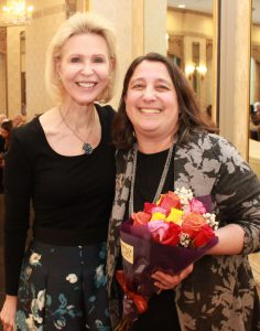 Jule Weitzman honored for 20 years of hospice service