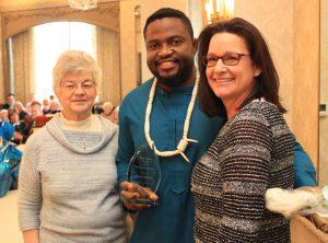Hospice home health aide award winner