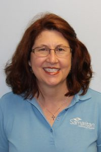 Karen Pericles, Samaritan Hospice Massage Therapist