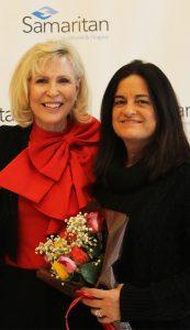 Terri Goldfine with Mary Ann Boccolini