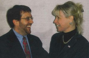 Dr. Goldfine and Mary Ann Boccolini