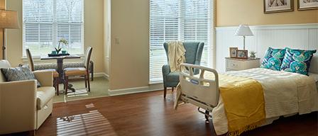 Voorhees NJ hospice center interior