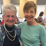 Barbara Glass and Linda Brennan