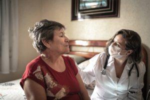 hospice nurse at home